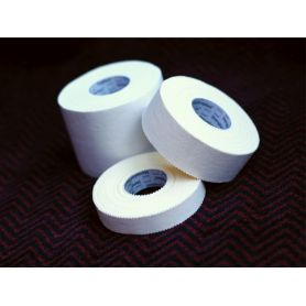 An image of all the Zinc Oxide Tape Sizes