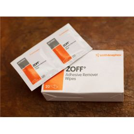 An image of the Zoff Wipes with box