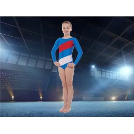 An image of the Tappers and Pointers Flying the Flag Leotard main