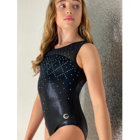 An image of the Gym Central Faye - Black Leotard Main