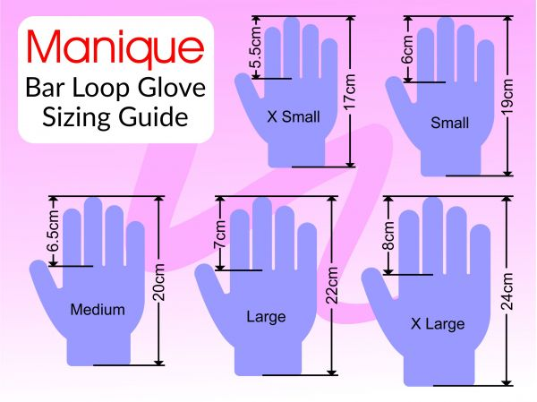 An image of the Bar Loop sizing guide