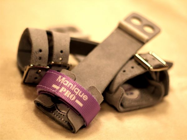 An image of a pair of Manique Mini A Bar Guards Double Buckle